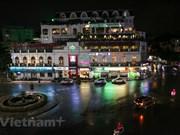 Suspenden actividades en calle peatonal en el lago de Hoan Kiem, Hanoi