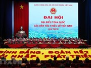 Efectúan segundo Congreso Nacional de las Minorías Étnicas de Vietnam