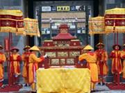 Provincia vietnamita de Thua Thien- Hue recrea ceremonia real
