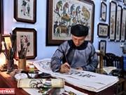 """Pinturas de Dong Ho ostentan el """"aliento"""" de la cultura vietnamita"""