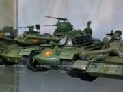 La historia militar de Vietnam reaparece a través de maquetas