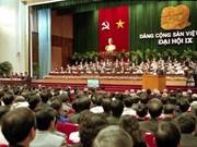 IX Congreso Nacional del PCV: Movilizar fuerza nacional para impulsar industrialización y modernización