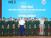 Incian en Vietnam curso de Estado Mayor de ONU