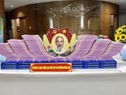 Exposición de libros sobre elecciones generales de Vietnam