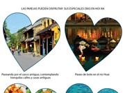 [Info] Figura ciudad vietnamita de Hoi An entre los lugares idóneos para los enamorados