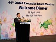 [Fotos] VNA organiza 44 reunión del Comité Ejecutivo de la OANA