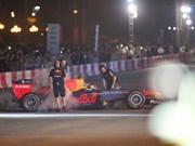 [Fotos] Leyenda de la F1 David Coulthard participa en el lanzamiento del Grand Premio Vietnam