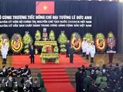 [Fotos] Homenaje póstumo dedicado al expresidente Le Duc Anh