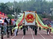 [Fotos] Dien Bien celebra los aniversarios 110 de su fundación y 65 de la victoria de la batalla de Dien Bien Phu