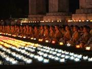 [Fotos] Budistas rezan por la paz del mundo  en el Vesak de la ONU 2019 en Vietnam