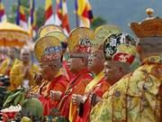 [Fotos] Misa para pedir por la paz y prosperidad en Vesak 2019 en Vietnam