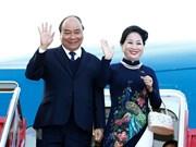 [Fotos] Primer ministro vietnamita llega a Oslo para iniciar una visita oficial a Noruega