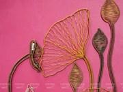 [Fotos] Productos artesanos únicos hechos de alambre de cobre