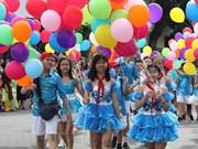 """[Fotos] Hanoi celebra 20 aniversario de reconocimiento como """"Ciudad por la Paz"""""""