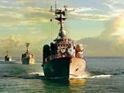 [Fotos] Fuerzas marinas vietnamitas, listas para defender soberanía nacional