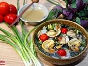 [Foto] Bun oc, un auténtico plato de Hanoi