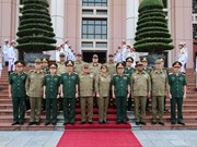[Foto] Tercer Diálogo sobre Políticas de Defensa Vietnam-Cuba