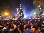 [Foto] Calles de Hanoi en la Nochebuena