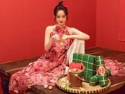 [Foto] Artistas en trajes tradicionales para el Tet