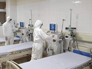 [Foto] En función hospital para poner en cuarentena sospechosos del nCoV