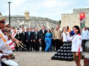 [Foto]  Delegación del Partido Comunista de Vietnam culmina su visita en Cuba