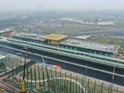 [Foto] Primer plano de Autódromo de Fórmula 1 en Hanoi en su última fase de construcción