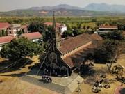 [Foto] Catedral Kon Tum con más de 100 años en Altiplanicie Occidental de Vietnam