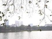 [Foto] El lago Hoan Kiem en la primavera