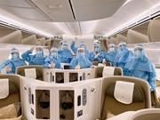 [Foto] Vietnam Airlines intensifica medidas sanitarias por COVID-19
