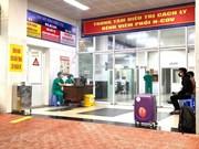 [Foto] Médicos vietnamitas atienden a pacientes con COVID-19