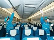 [Foto] COVID-19: Vietnam Airlines desinfecta sus aviones a diario