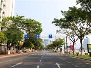 [Foto] Da Nang fortalece medidas de distanciamiento social contra COVID-19