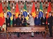 [Foto] 31 aniversario del establecimiento de relaciones diplomáticas entre Vietnam y Brasil