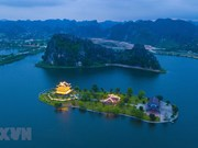 [Foto] Antigua capital imperial Ninh Binh de noche