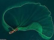 [Foto] Redes de pesca en provincia Phu Yen