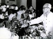 [Foto] Presidente Ho Chi Minh, fundador de la prensa revolucionaria vietnamita