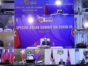 [Foto] Vietnam une manos con otros países de ASEAN en lucha contra COVID-19