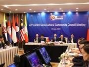 [Foto] 23 Reunión del Consejo de la Comunidad Sociocultural de la ASEAN