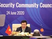 [Foto] ASEAN 2020: La 21 Reunión del Consejo de Política - Seguridad de la ASEAN