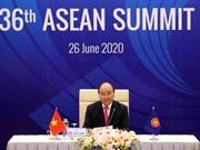 [Foto] ASEAN 2020: Premier vietnamita, Nguyen Xuan Phuc, preside Cumbre 36 de ASEAN