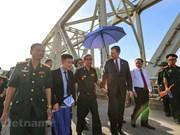 [Foto] Veteranos de guerra de Vietnam y EE.UU. se reúnen en el puente de Ham Rong