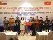 [Foto] Cuba ayuda a Vietnam en lucha contra coronavirus
