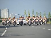 [Foto] Unidad de policía de tránsito femenino en Ciudad Ho Chi Minh