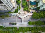 Puente elevado con forma de letra Y, el más hermoso en Hanoi