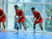 Selección vietnamita se prepara para Copa Mundial de fútbol sala 2021