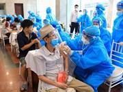 Hanoi refuerza por completar vacunación masiva antes del 15 de septiembre
