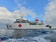 Buque médico militar 561 - Hospital móvil en el Mar del Este