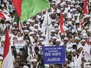 Indonesia advierte contra manifestaciones