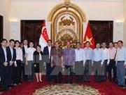 Efectúan décima consulta política entre cancilleres de Vietnam y Singapur