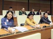 Diputados destacan éxitos del segundo período de sesiones parlamentarias de Vietnam